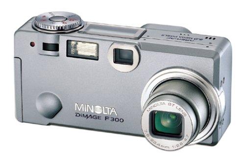 konica minolta dimage f300 brief review - Konica Minolta Digital Camera